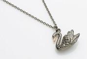 Wings of desire swan black gold